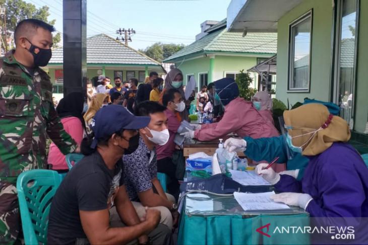 Kodim 0414 Belitung gelar vaksinasi COVID-19 gratis untuk masyarakat
