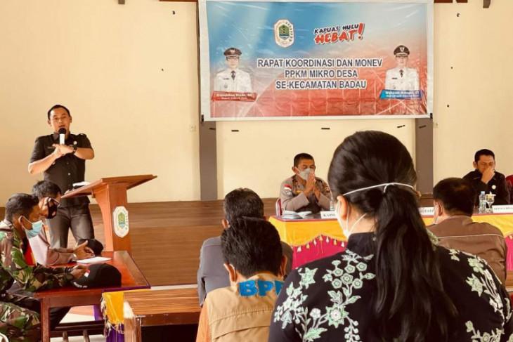 Wabup Kapuas Hulu evaluasi penerapan PPKM mikro di batas RI-Malaysia
