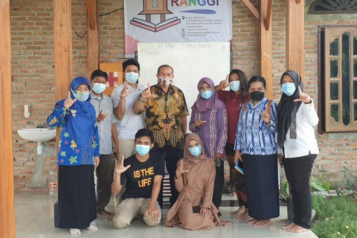 Kadis Perpustakaan Deli Serdang kunjungi Rumah Literasi Ranggi