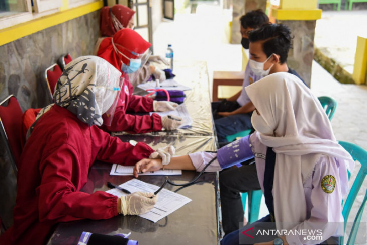 Pemkab Purwakarta mulai gulirkan vaksinasi COVID-19 untuk pelajar