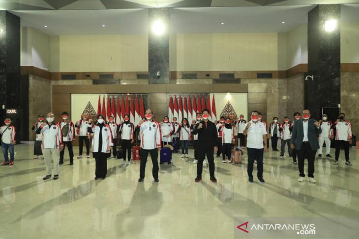 Kontingen Olimpiade Indonesia bertolak ke Tokyo