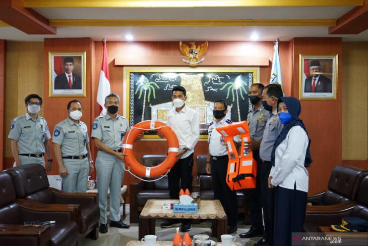Jasa Raharja bantu sarana keselamatan untuk angkutan perairan di Kabupaten Banjar