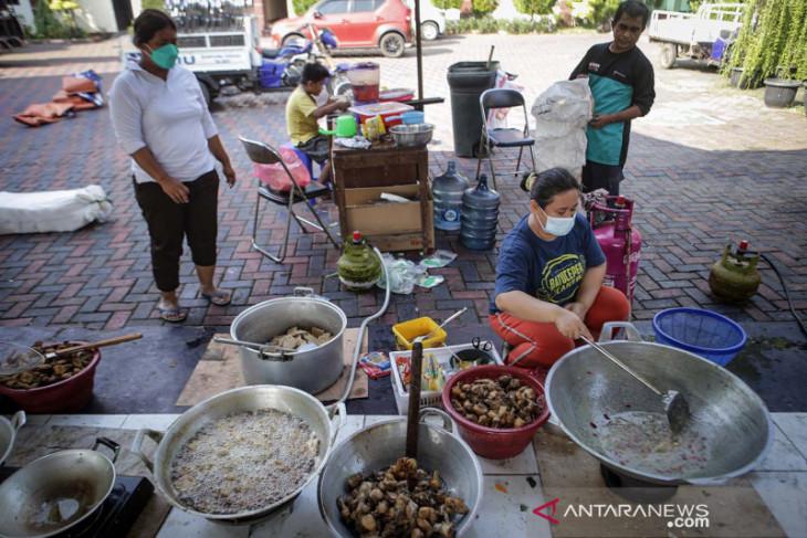Satgas Balikpapan: Jatah nasi kotak 3 kali sehari  bagi warga isoman