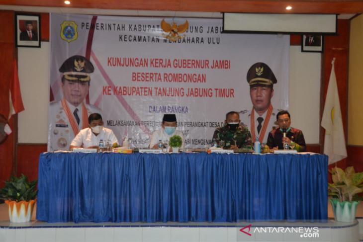Gubernur Jambi berikan bantuan untuk korban kebakaran di Tanjab Timur