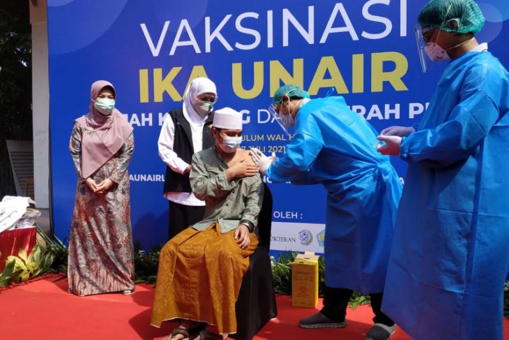 FK Unair bantu Pemprov Jatim percepat vaksinasi di perkampungan dan pesisir