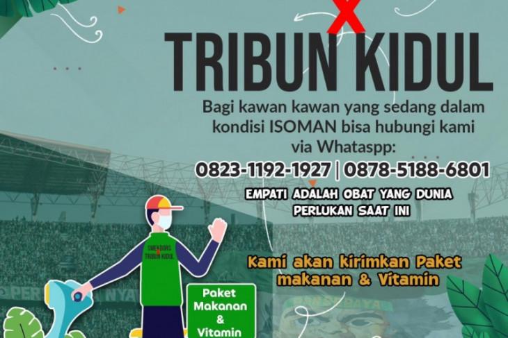 Smekdors-Tribun Kidul bagikan makanan dan vitamin untuk warga isoman Surabaya