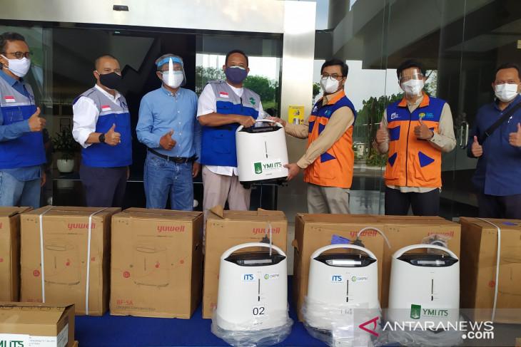 YMI sumbangkan oksigen konsentrator dan obat-obatan ke ITS