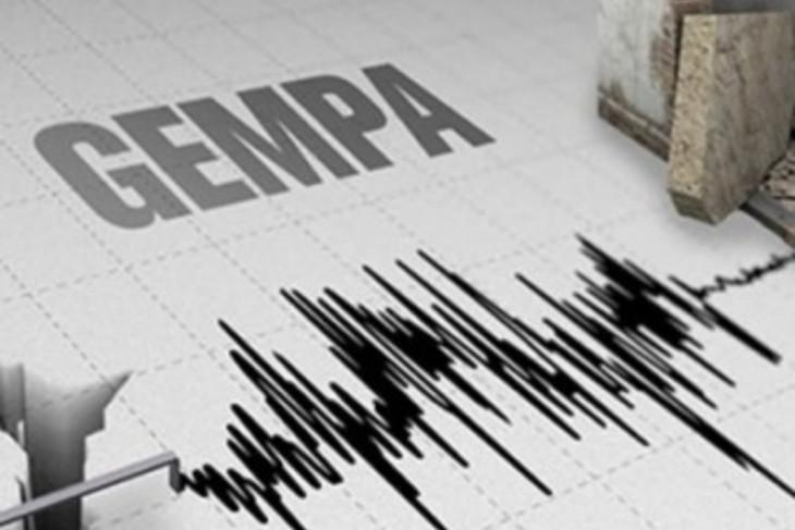 Gempa bumi susulan  guncang Bitung