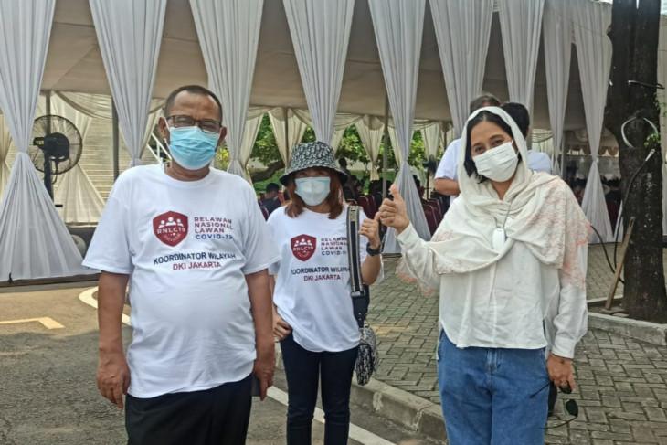 Relawan Nasional Lawan COVID-19 langsung