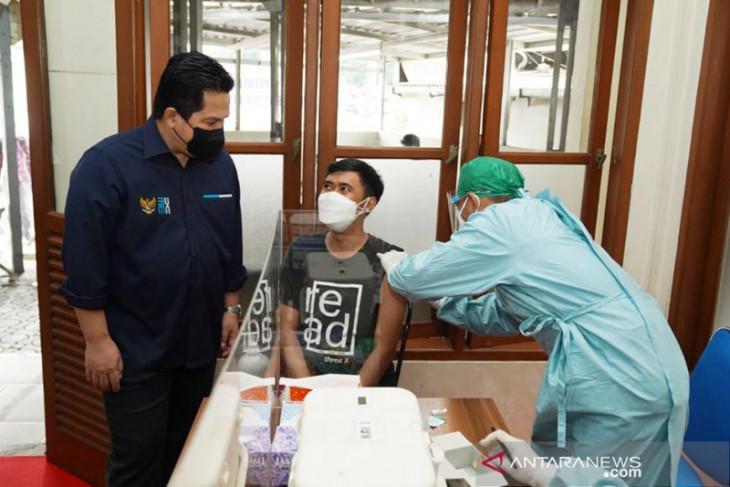 Menteri BUMN Erick Thohir kembali ingatkan publik pentingnya vaksinasi COVID-19