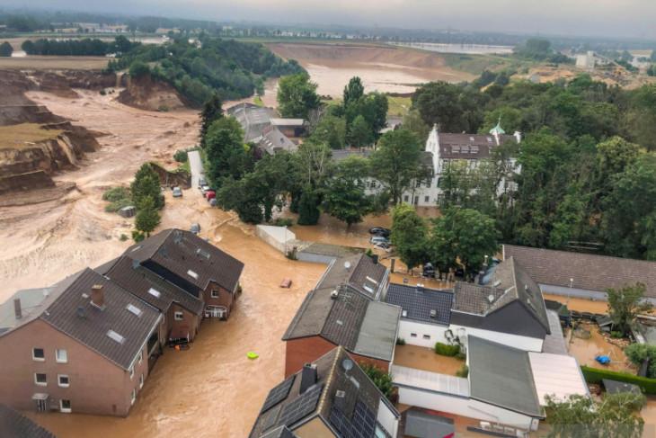 Terdampak banjir Jerman, sejumlah WNI mengungsi