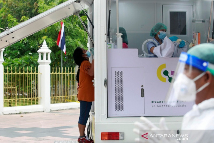 Thailand perluas area penguncian saat kasus COVID-19 melonjak