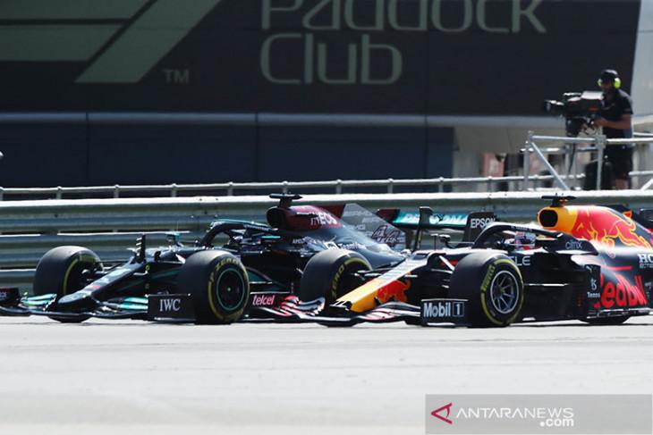 Komisi pengawas Formula 1 tolak petisi Red Bull untuk tinjau ulang insiden tabrakan di GP Inggris