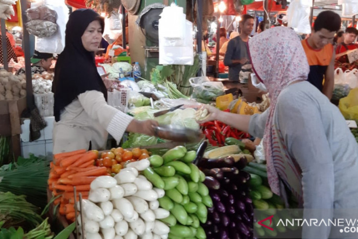 Harga pangan di Pontianak stabil jelang Idul Adha 1442 H