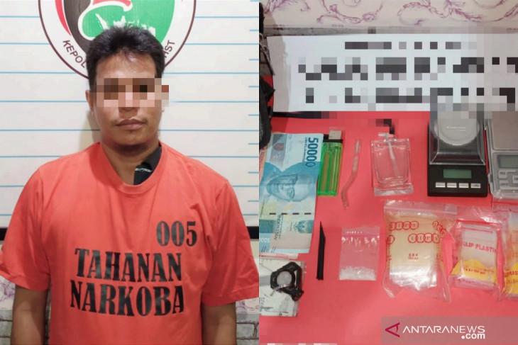 Terlibat narkoba warga Banjarmasin ditangkap Polres HST
