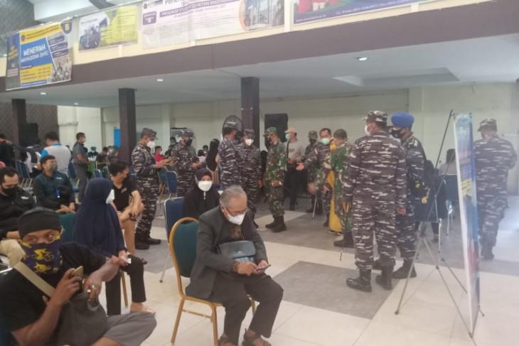 Lantamal XII Pontianak dukung vaksinasi di Universitas Muhammadiyah Pontianak