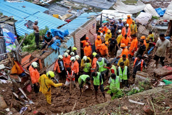 Hujan deras tewaskan lebih 160 orang di India