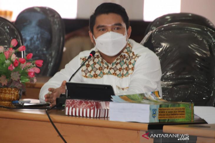 Ketua DPRD HSS ingatkan batas waktu pembahasan KUA PPAS 2022