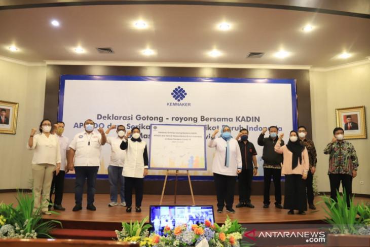 Deklarasi Gotong Royong diyakini hindarkan dampak COVID-19 pekerja/buruh
