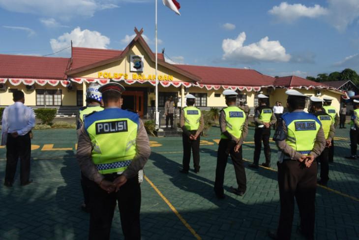 134 personel diturunkan dalam pengamanan hari raya Idul Adha 1442H