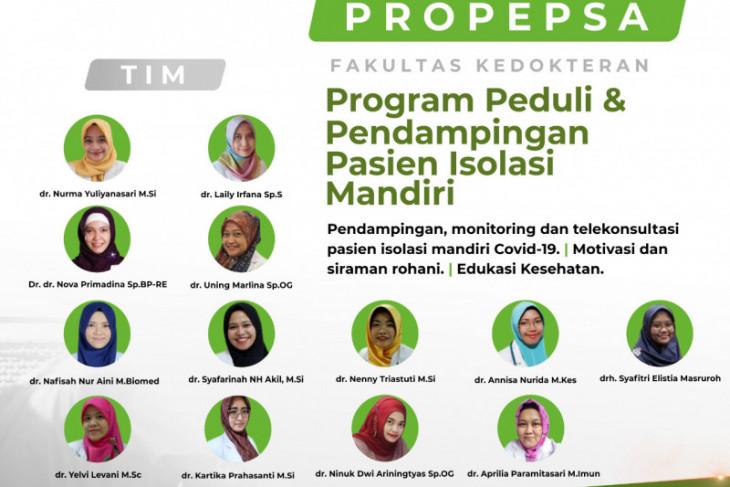 FK UMSurabaya buka telekonsultasi untuk pasien isoman
