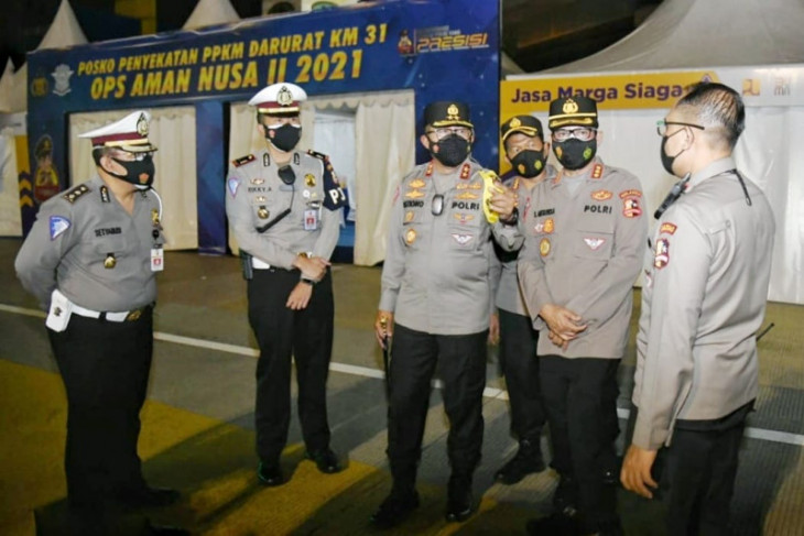 Korlantas Polri putar kembali 1.500 kendaraan jelang Iduladha 1442 Hijriah