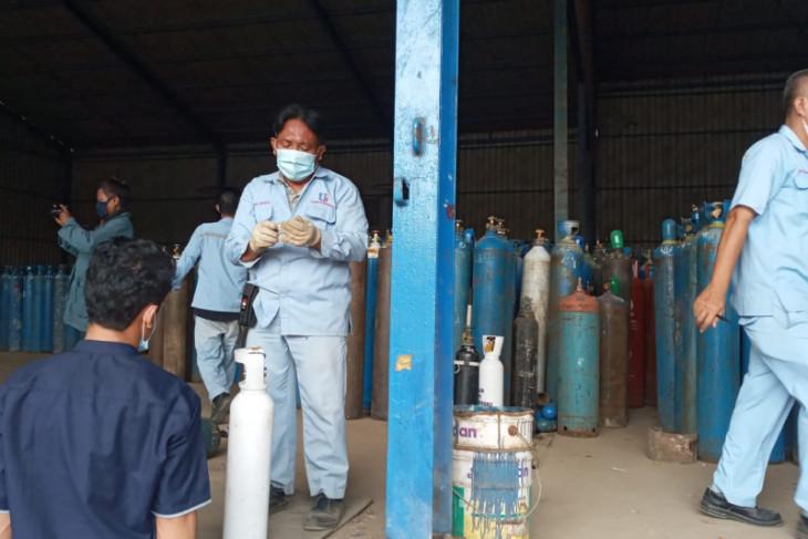 Perusahaan gas oksigen di Provinsi Banten prioritaskan kebutuhan medis