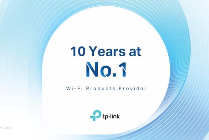 TP-Link dinobatkan sebagai penyedia wifi nomor satu dunia