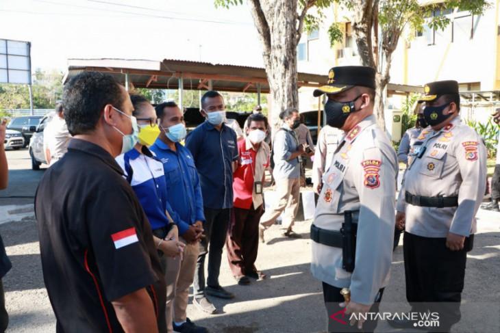 Polisi ditempatkan di sejumlah titik cegah takbir keliling