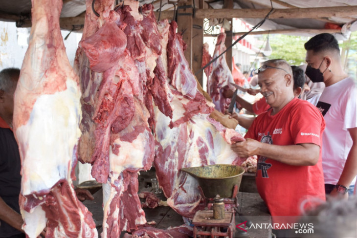 Sabang sembelih 58 ekor sapi dan kerbau dalam tradisi meugang Idul Adha