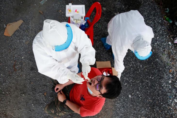 Rumah-rumah sakit kewalahan tangani lonjakan kasus COVID-19 di Thailand