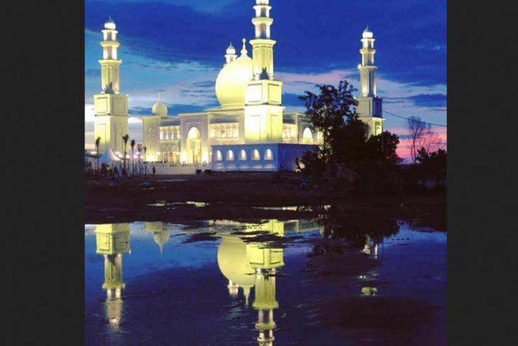 Masjid Oesman Al-Khair Kayong Utara selenggarakan Sholat Idul Adha