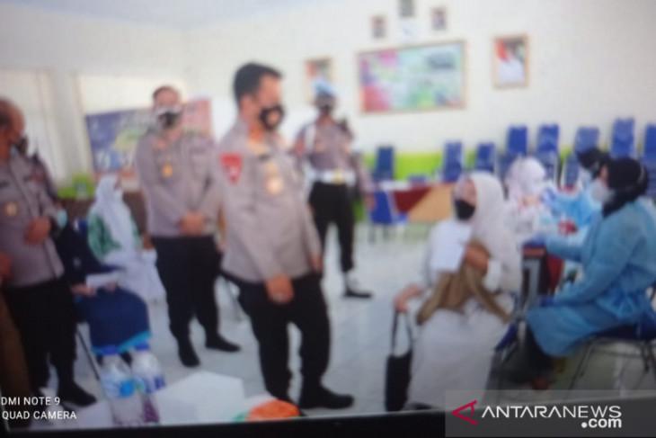 Polda Banten vaksinasi