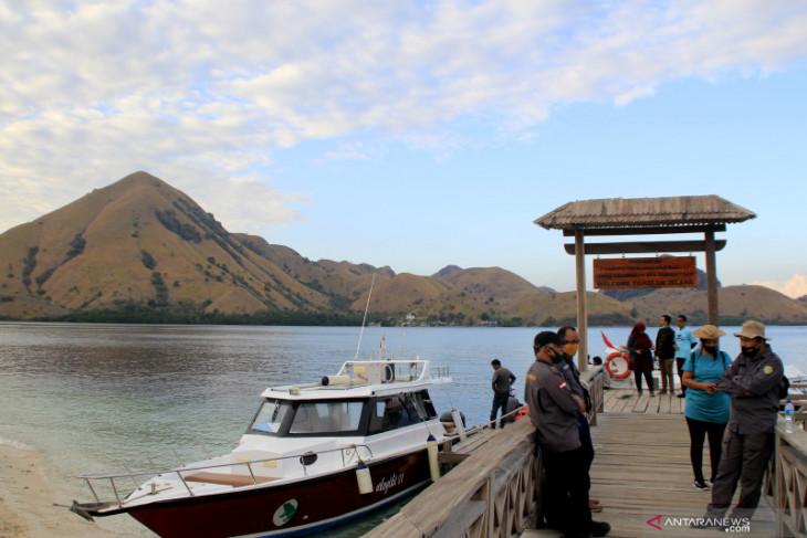 Kawasan wisata pulau padar kembali dibuka