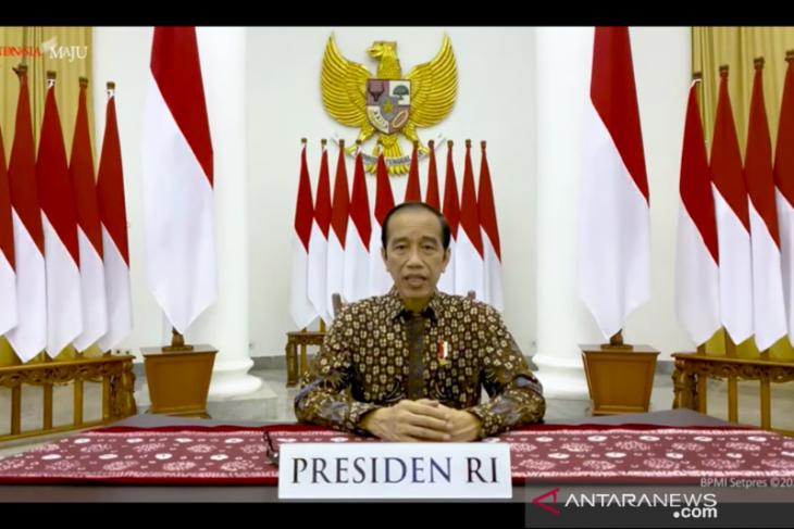 Presiden Jokowi: intensifkan dana untuk upaya tangani limbah medis COVID-19