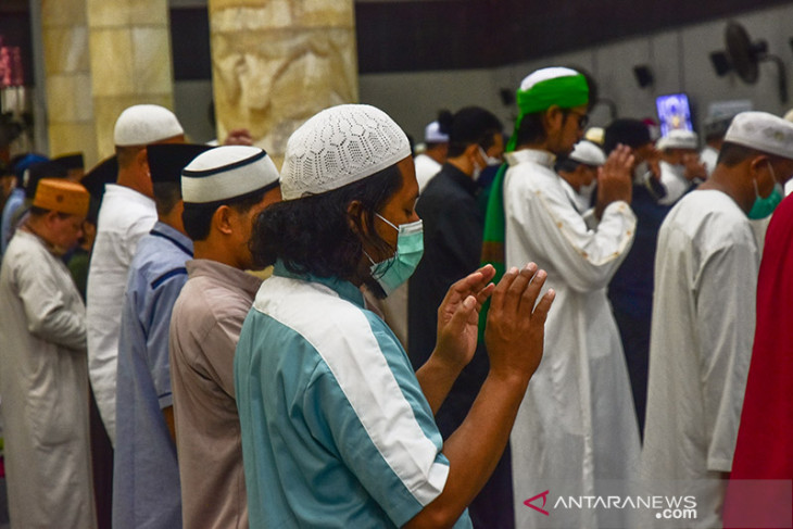 FOTO - Shalat Idul Adha Berjamaah di Masjid Al Fatah Ambon