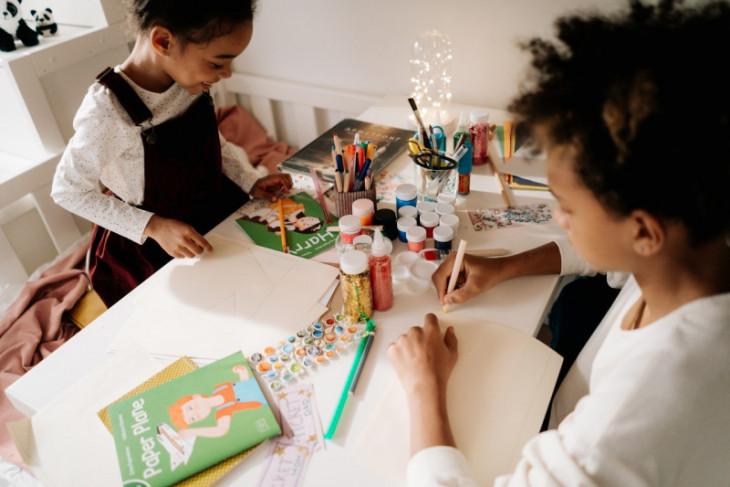 Kerajinan tangan bisa atasi kebosanan anak selama di rumah