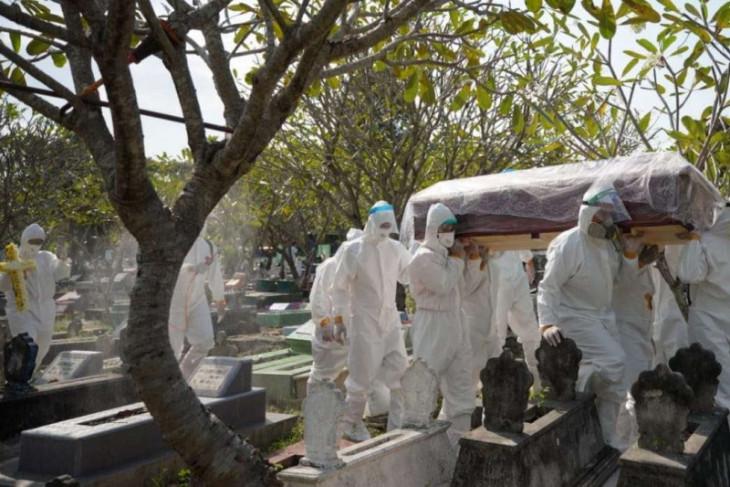 Satgas: Kasus kematian COVID-19 tertinggi di Jawa Timur