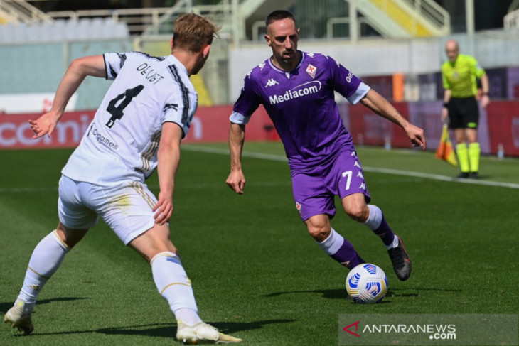 Liga Italia: Agen sebut Franck Ribery masih ingin bermain di Serie A