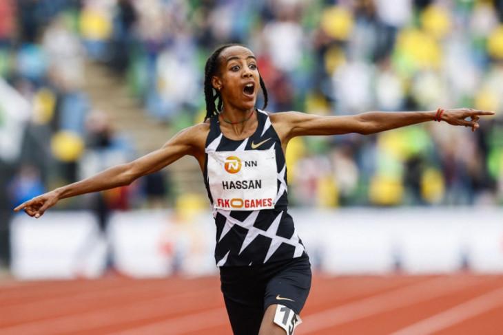 Sifan Hassan bersiap dominasi tiga nomor lari Olimpiade Tokyo 2020