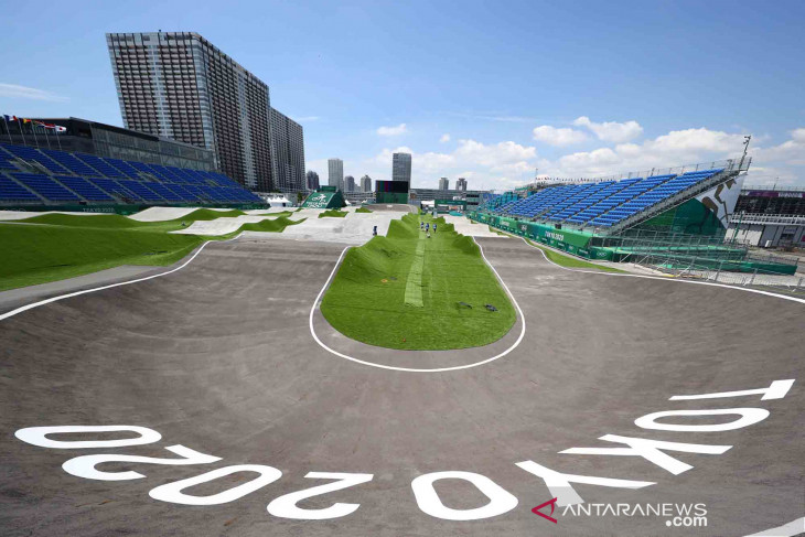Pebalap Connor Fields alami kecelakaan di Olimpiade Tokyo