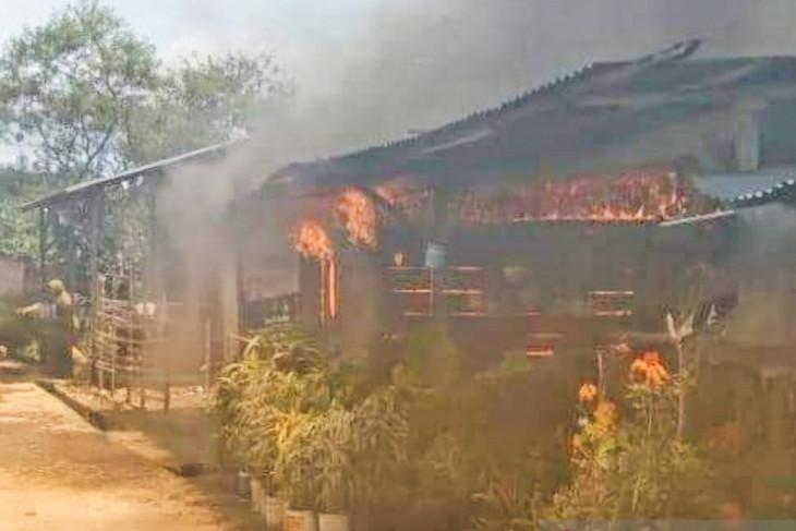 Kebakaran hanguskan satu rumah di Bener Meriah