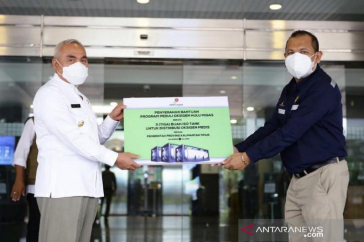 SKK Migas bantu  20 ton oksigen medis untuk penanganan COVID--19