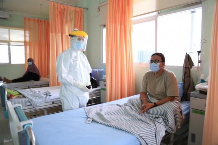 Turun tingkat keterisian tempat tidur pasien COVID-19 Kota Tangerang