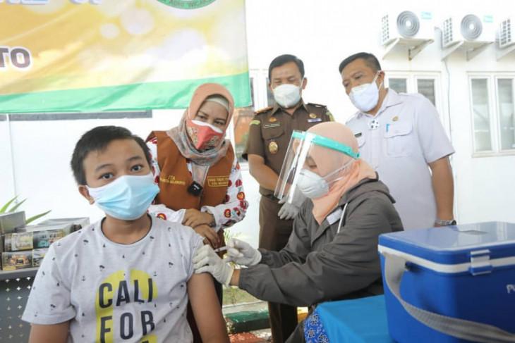 Wapres dan gubernur apresiasi capaian vaksinasi Kota Mojokerto tertinggi se-Jatim