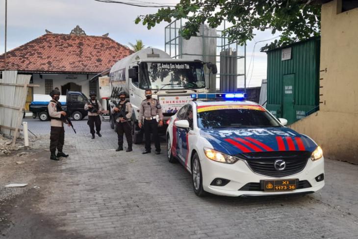 Polda Bali amankan distribusi 1.257 tabung dan 71 ton O2 medis cair