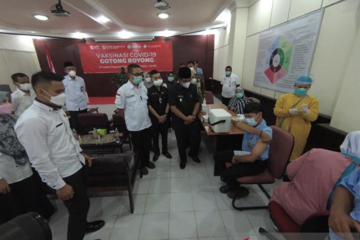 PT LPPPI selenggarakan vaksin gotong royong bagi 1.200 karyawannya