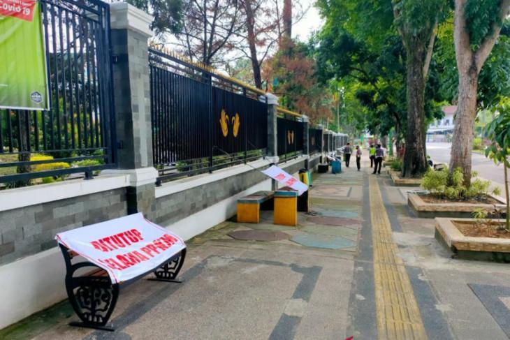 Polisi Jambi rekayasa sosial di fasilitas umum tekan penyeberan COVID-19