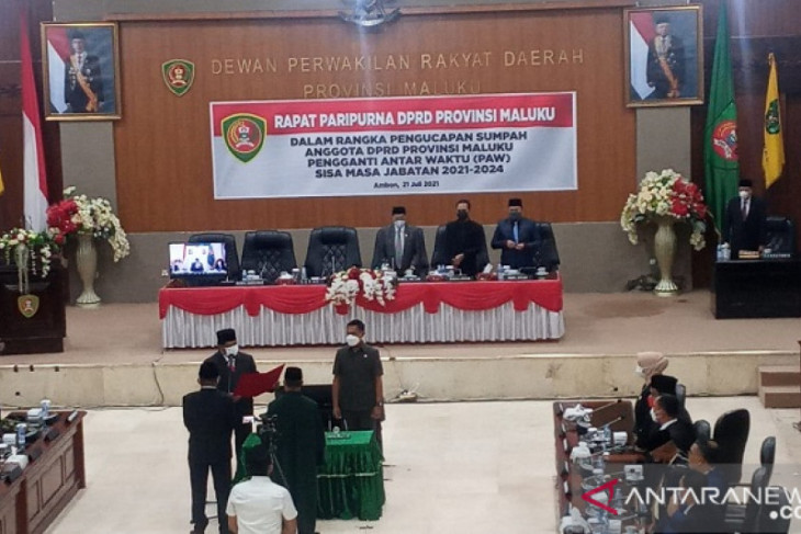 Gubernur  Penambahan anggota DPRD Maluku motivasi peningkatan kinerja begini penjelasannya