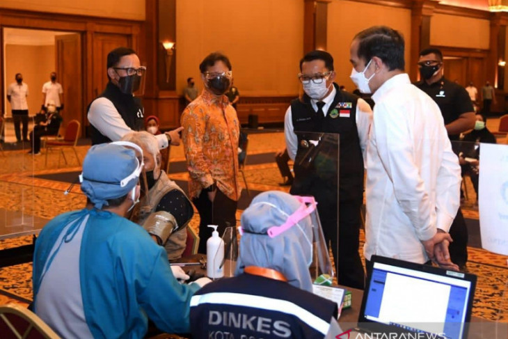 Wali Kota Bogor dipanggil Presiden bicarakan perkembangan penanganan COVID-19